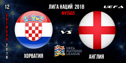 Англия Хорватия