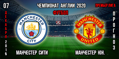 Манчестер Сити Манчестер Юнайтед