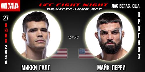 Прогноз Галл Перри. UFC.