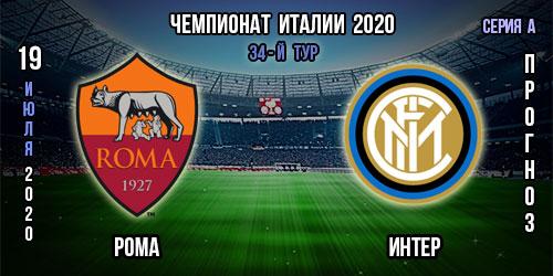 Рома – Интер. Бесплатный прогноз