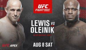 UFC 08.08.2020. Расписание. Прогнозы