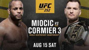 UFC 252. Расписание. Прогнозы. Бои