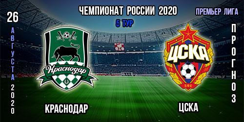 Краснодар – ЦСКА. Прогноз