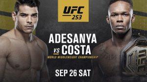 UFC 253. Расписание. Прогнозы