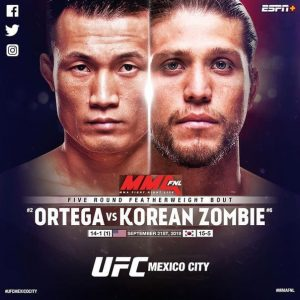 Прогнозы. UFC Fight Night 18.10.2020г