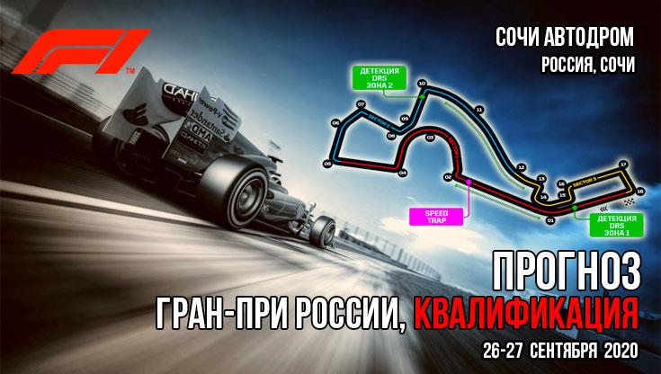 Формула 1. Сезон 2020. Гран-При России. Прогно