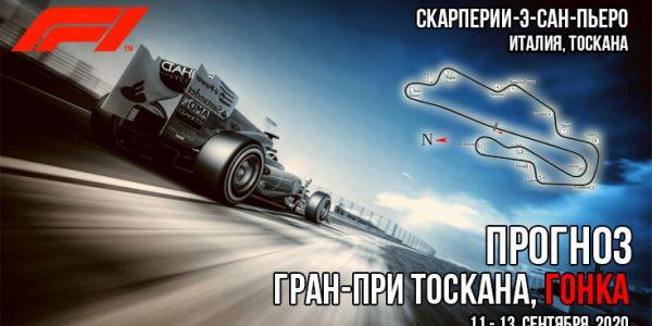 Формула-1 2020. Гран-при ТОСКАНЫ. Прогноз