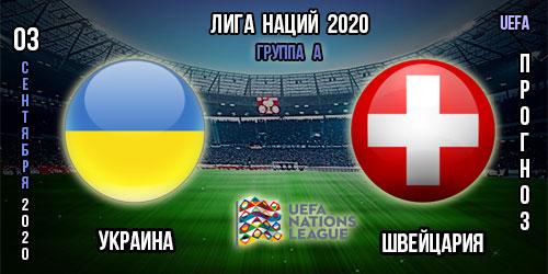 Украина – Швейцария. Прогноз. 03.09.2020