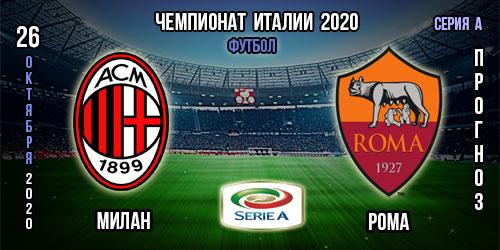 Милан – Рома. Прогноз