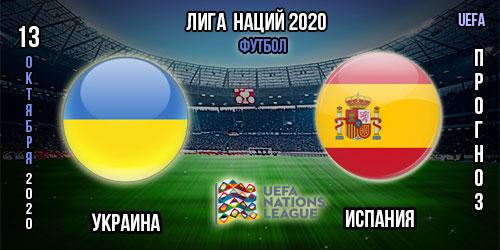 Украина – Испания. Прогноз. Лига Наций