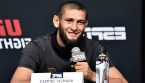 Хамзат Чимаев. UFC