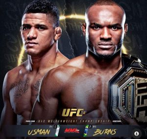 UFC 258. Прогнозы. Усман - Бернс