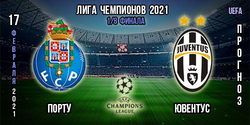 Порту – Ювентус. Прогноз. Лига чемпионов 2021