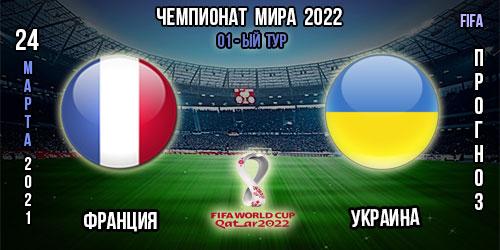 Франция – Украина. Прогноз. Чемпионат мира