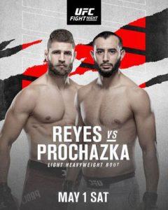 UFC 02.05.2021. Расписание. Прогнозы