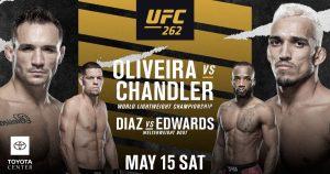 UFC 262. Расписание. Прогнозы