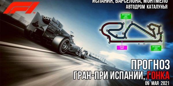 Формула-1. Гран-при Испании, гонка. Прогноз