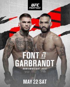 UFC 23.05.2021г. Прогнозы