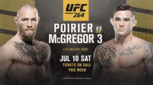 UFC 264 Прогнозы. Реванш Макгрегор - Порье 3