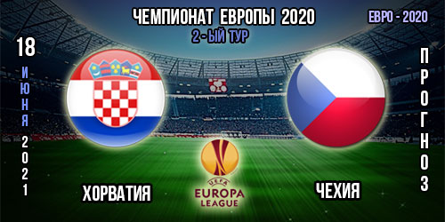 Хорватия – Чехия. Прогноз. Евро 2020
