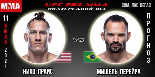 Прогноз. Прайс - Перейра. UFC 264