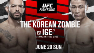 UFC 20.06.2021. Джон - Иге